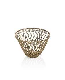 Shiraleah Large Basket Bowl