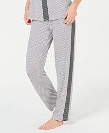 Alfani Side-Stripe Pajama Pants, Created for Macy's