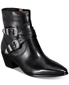 Frye Women's Ellen Buckle Short Boots