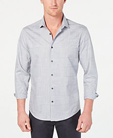 Alfani Men's Layton Fine Line Shirt, Created for Macy's