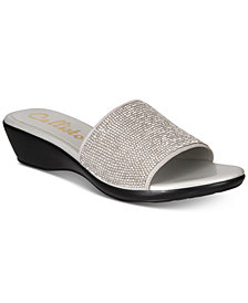 Callisto Stromm Embellished Wedge Sandals, Created for Macy's