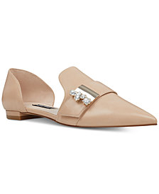 Nine West Anikol Buckle Flats