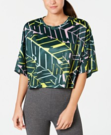 Puma Cosmic dryCELL Printed Cropped T-Shirt