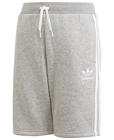 adidas Originals Big Boys Fleece Shorts