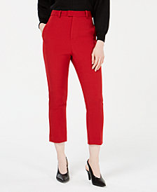 Line & Dot Rosey High-Rise Cropped Pants