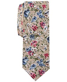 Original Penguin Men's Robyn Skinny Floral Tie