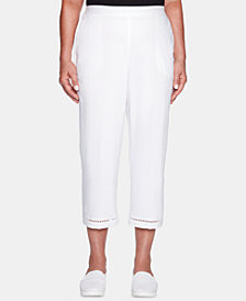 Alfred Dunner Palm Coast Pull-On Capri Pants