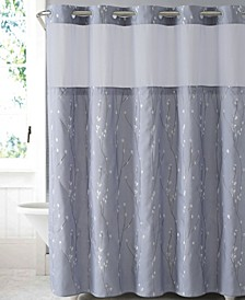Cherry Bloom 3-in-1 Shower Curtain