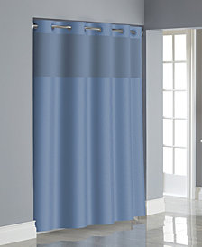 Hookless Dobby Texture 3 In 1 Shower Curtain