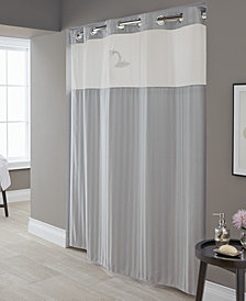 Hookless Park Avenue Stripe 3-in-1 Shower Curtain
