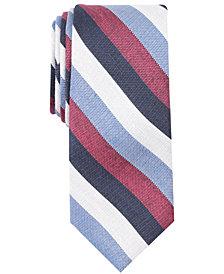 Tallia Men's Ericson Stripe Slim Tie