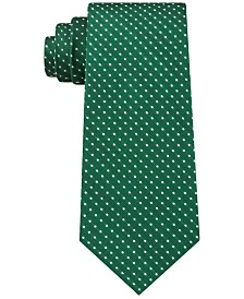 Tommy Hilfiger Men's Preppy Classic Dot Silk Tie