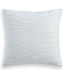 "Hotel Collection Ethereal 300 Thread Count 18"" Square Decorative Pillow, Created for Macy's"