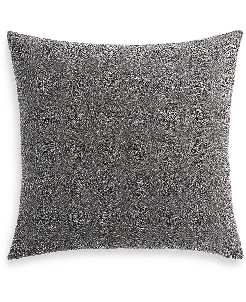 "Hotel Collection Iridescence 18"" Square Decorative Pillow, Created for Macy's"