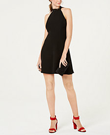 19 Cooper Crochet-Trim Fit & Flare Dress