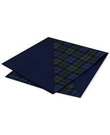 Tommy Hilfiger Men's Assorted Silk Twill Pocket Squares