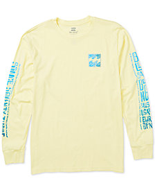 Billabong Men's Boundary Pigment Dyed Graphic T-Shirt
