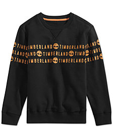 Timberland Big Boys Hastings Graphic Sweatshirt