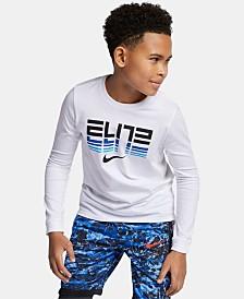 Nike Big Boys Elite-Print Cotton T-Shirt