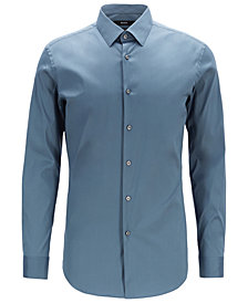BOSS Men's Extra-Slim Fit Poplin Shirt