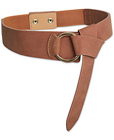 BCBGeneration Faux-Suede Snap Belt