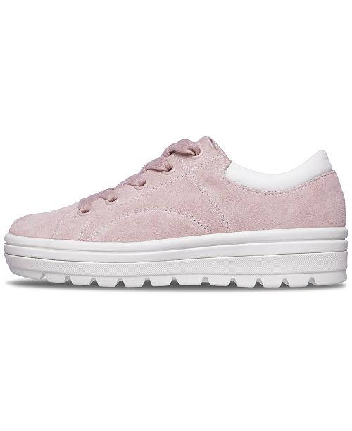0baebab04c8 ... Skechers Women s Street Cleat - Back Again Casual Sneakers from Finish  ...