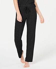 Alfani Ultra Soft Ribbed Knit Pajama Pants, Created for Macy's