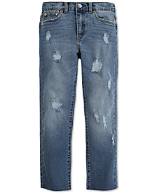 Levi's® Big Girls High Rise Straight Jeans
