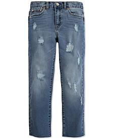 Levi's® Big Girls High Rise Straight Jeans