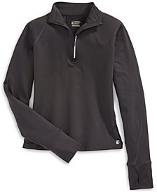 EMS® Women's Techwick Athletic-Fit Performance Stretch Moisture-Wicking Transition 1/2-Zip Sweatshirt