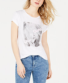 GUESS Electric Dream Embellished Graphic T-Shirt