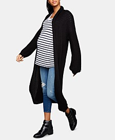 BB Dakota Maternity Open-Front Cardigan