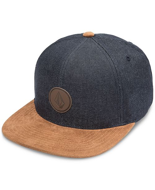 Volcom Men s Quarter Snapback Hat - Hats 6a66b3f6568a