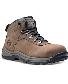 Timberland PRO Men's Flume Hiker Waterproof Boots with Alloy Toe