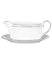 Vera Wang Wedgwood Dinnerware, Grosgrain Gravy Boat-Only
