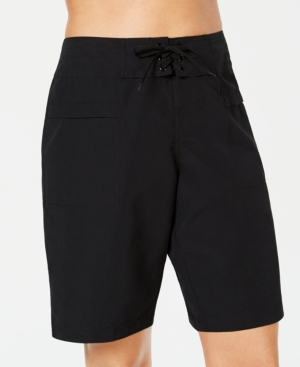Island Escape Board Shorts, Created for Macy's Women's Swimsuit