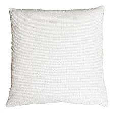 "Keller Faux Mongolian Reverse To Micromink Pillow, 22"" x 14"""