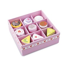 New Classic Toys Wooden Pastry Assortment in Gift box