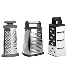 BergHOFF Essentials Collection 3-Pc. Grater Set
