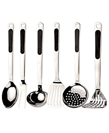 CooknCo Ergo Stainless Steel 7-Pc. Utensil Set
