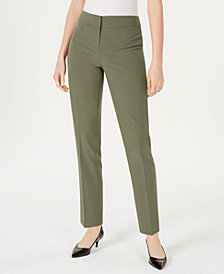 Nine West Straight Leg Stretch Pant