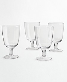 CLOSEOUT! 4-Pc. Clear Glass Goblet Set, Created for Macy's