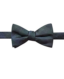 Ryan Seacrest Distinction™ Men's Warwick Gingham Pre-Tied Silk Bow Tie, Created for Macy's
