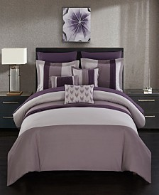 Chic Home Ayelet 10 Piece King Bed In a Bag Comforter Set