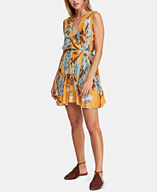 Free People Marnie Printed Mini Dress