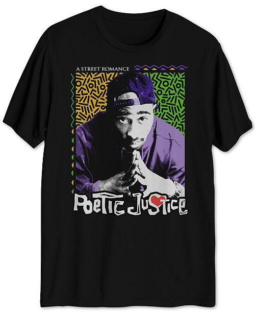 c6fabfcbaf Hybrid Poetic Justice Men s Graphic T-Shirt   Reviews - T-Shirts - Men ...