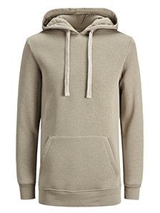 Jack & Jones Men's Letter Hooded Sweatshirt