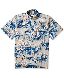 Reyn Spooner Men's Sailboat Graphic Shirt