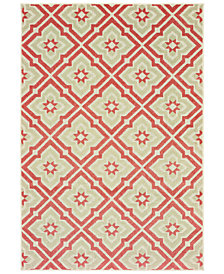 "Oriental Weavers Barbados 1801 6'7"" x 9'6"" Indoor/Outdoor Area Rug"