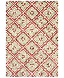 "Oriental Weavers Barbados 1801 9'10"" x 12'10"" Indoor/Outdoor Area Rug"